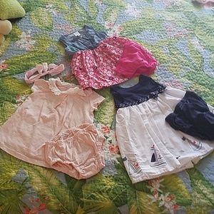 EUC Infant Outfit Bundle
